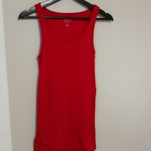Red Maternity Tank